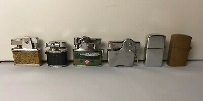 Mini Micro Accendini-Lighters-Mecheros-Briquet-Feuerzeug-Encendedor-Old Vintage