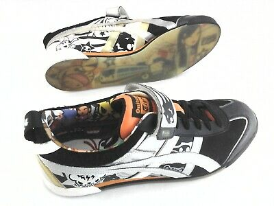best sneakers a6fe7 7424a ONITSUKA TIGER TOKIDOKI Sneakers Black Silver Gold Asics US 9 /42.5 RARE  SAMPLE