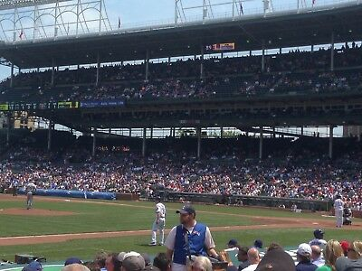 2-4 tickets to Chicago Cubs vs Atlanta Braves - Wrigley 6/25 - Section 11 Row 13