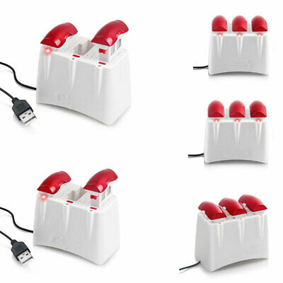 3-Port Charger for Syma X5UW Quad Drone 3X 3.7V 500mAh Lipo Battery