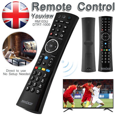 UK YOUVIEW Remote Control For HuMax DTR-T2000 DTR-T1000 NEW Waterproof