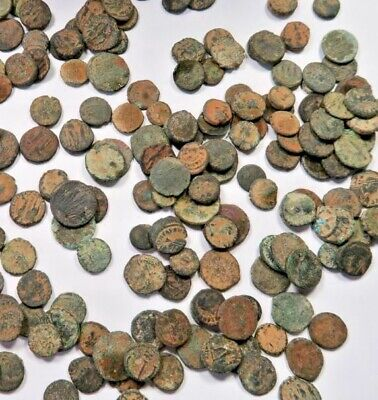 Unsorted and Uncleaned desert Roman coins !! 10 Lot of High quality Ungraded