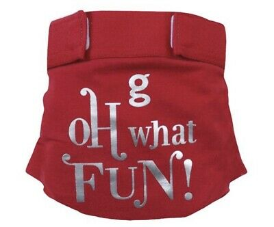 gDiaper Little gPants Holiday Christmas Oh What Fun! gJingle Large New