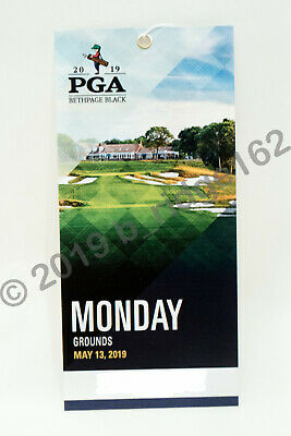 2019 PGA Championship Tickets At Bethpage Black - Monday Practice Grounds Pass
