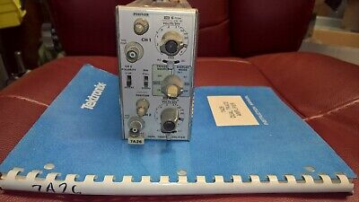 Tektronix 7A26 Dual Trace Amplifier Plug-In, 7000 Series Oscilloscope w/manual