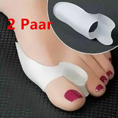 4x Ortheses Hallux Valgus DOIGTS Silicone oignons déformation pieds orteils