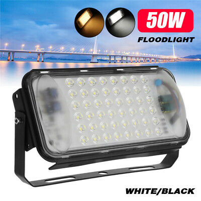 50W 48 LED Flood Light Outdoor Garden Landscape Path Spot Floodlight Waterproof