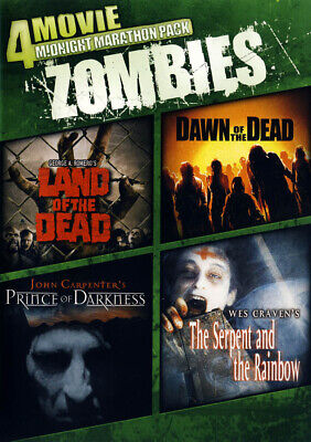 4-Movie: Zombies (Land of the Dead/Dawn of the New DVD