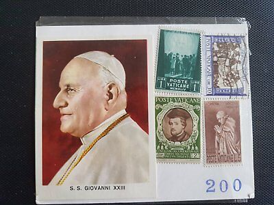 Collection Timbres postale Vatican Jean 23