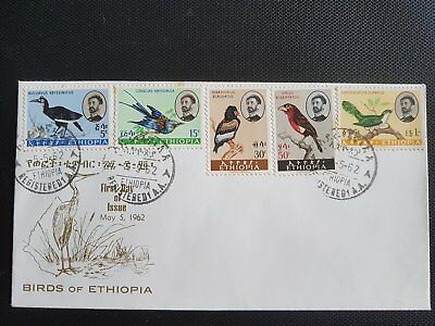 Collection Timbres postale Ethiopie 1962