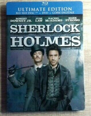 Blu Ray Sherlock Holmes EDITION STEELBOOK COLLECTOR fr