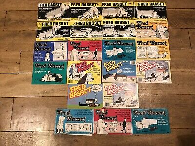 Fred Basset - 24 Books Collection Vintage Rare Daily Mail Comic