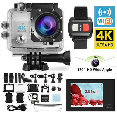 LCD Touch Screen Action Camera Camcorder - Certified Refurbished- as Go Pro UK