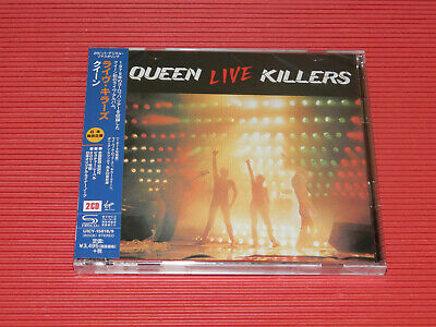 QUEEN LIVE KILLERS  (Jewel Case) JAPAN ONLY 2 SHM CD SET