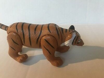 Siberian Tiger Wild animal Figurine PVC Toy movable parts educational