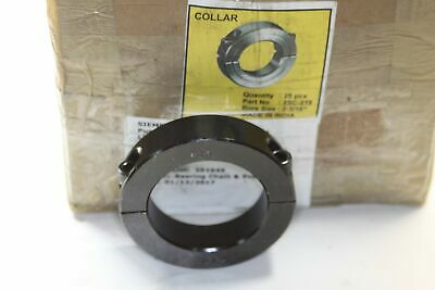 "2SC-218 SPLIT CLAMP COLLAR 2 3/16"" box of 25"