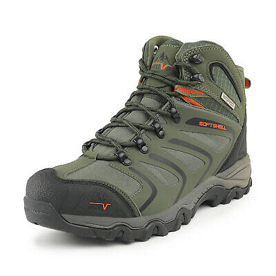 NORTIV 8 Mens Waterproof Hiking Boots Backpacking Lightweight Outdoor Work Boots