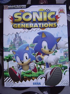 Brady Game Guide - Sonic Generations