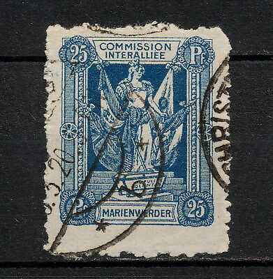 (YYAD 716) Marienwerder 1920 USED Germany Poland Prussia