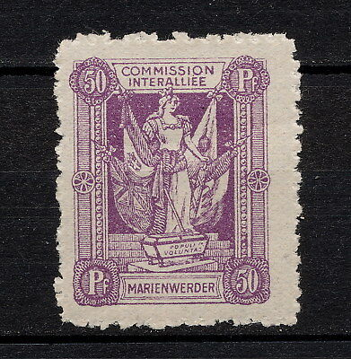 (YYAD 704) Marienwerder 1920 MLH Germany Poland Prussia