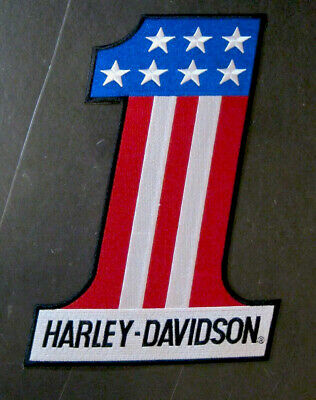 Harley Davidson #1 Large Patch