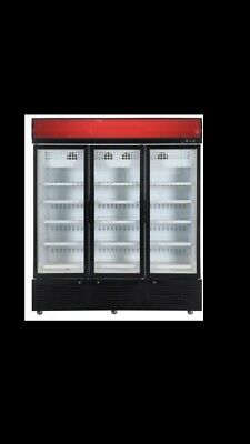 Commercial Three Door Upright  Freezer full stainless steel