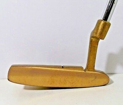 "Top Brass 3 Milled Face 36"" Light Weight Tour PUTTER RH Blade Style Fast Greens"