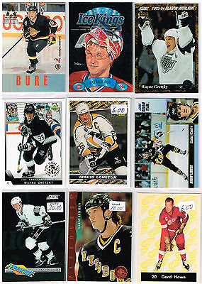 HUGE Lot Of 1993-94 Autos - Rookies - Parallels - Inserts - Base