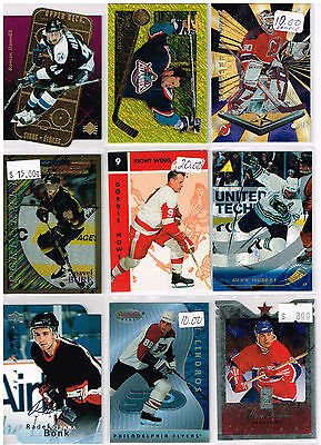 HUGE Lot Of 1995-96 Autos - Rookies - Parallels - Inserts - Base