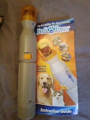 Pedi paws pet nail trimmer; Free shipping