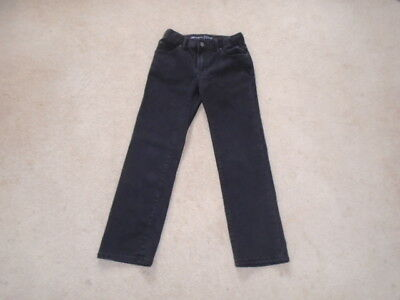 Gap Kids 1969 -  Black Denim - Straight Jeans - Size: 8  Regular