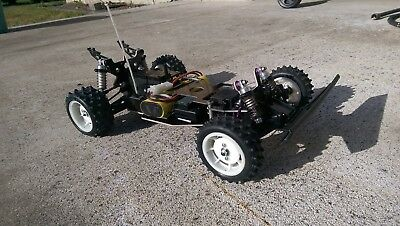 Factory Works Vintage A&L Chassis set for Kyosho Raider series Hot Trick style
