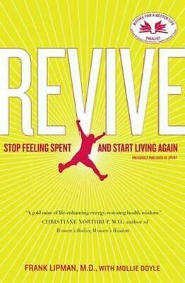 NEW Revive By Frank Lipman Paperback Free Shipping
