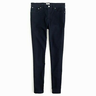 J.Crew High-Rise Jeggings Womens Dark Blue Rinse Wash Ankle Stretch Skinny Jeans