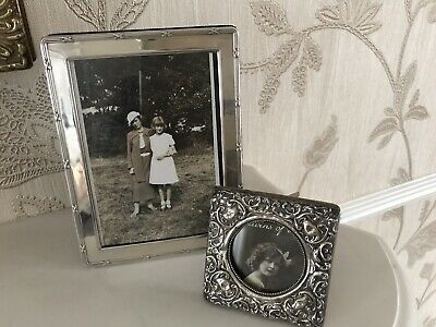 Vintage Edwardian Style Solid Silver Picture Photo Frame