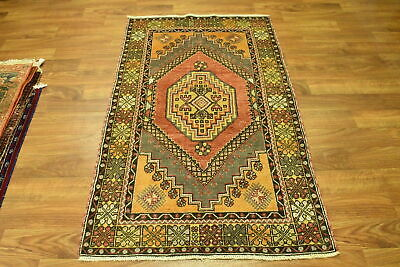 Amazing Colors Semi-Antique 4x6 Anatolian Turkish Oriental Area Rug