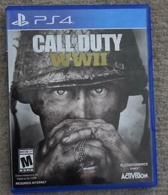 Call of Duty: WWII (PS4) ~ Great Condition! World War 2 Game