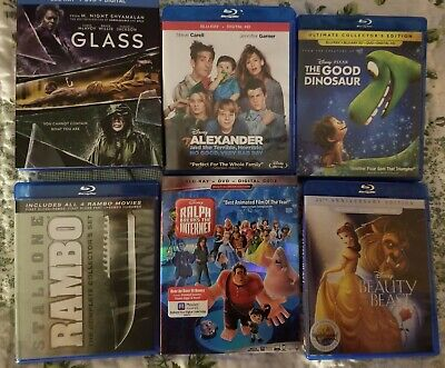 New Release & recent hits blu Ray  (2018 & 2019) no dvd or digital