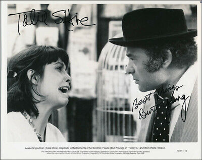 Rocky Ii Movie Cast - Autographed Signed Photograph With Co-Signers