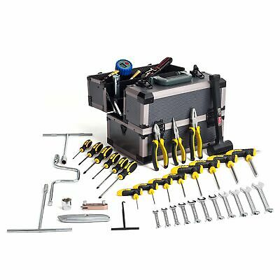 Demon Tweeks Kart/Karting/Racing 39 Piece Starter Work Tool Kit / Toolbox