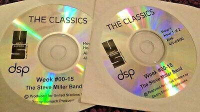 Radio Show: The Classics 4/3/00 The Steve Miller Band 2 Hour Tribute