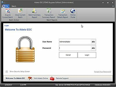 ALDELO 2018 EDC WorldPay NO MONTHLY CHARGE