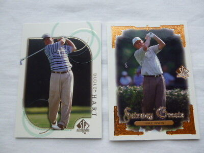 Hale Irwin #97  Fairway Greats & Dudley Hart #22 Golf Trading Cards Upper Deck