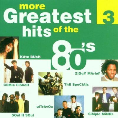 Various : More Greatest Hits of the 80s CD Incredible Value and Free Shipping!