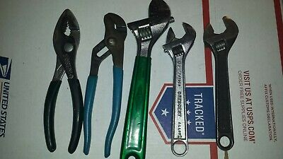 Nice Vtg crescent Professional Tools #57,#84#h16#426#h16channellock set 6pc set