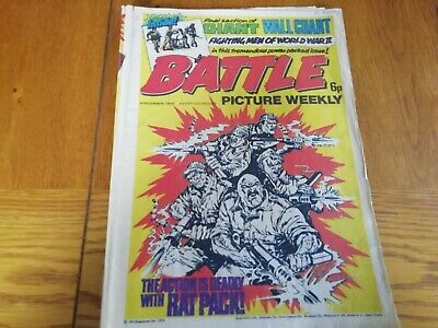Battle Picture Weekly Comic 6/12/1975