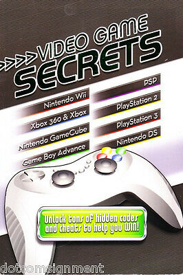 Video Game Secrets by Terry Munson (2008, Paperback) Unlock Tons of HIdden Codes