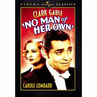 No Man of Her Own (DVD, 2007) U.S. Issue New & Sealed Clark Gable Carole Lombard