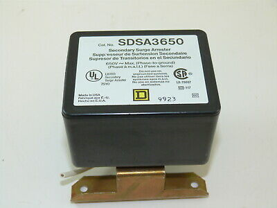 Square D SDSA3650 Secondary Surge Arrester Used