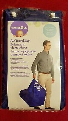 Babies R Us Air Travel Bag for Gate Check for Car Seats - Blue